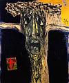 Marcus Reichert painting Crucifixion VII 1991.jpg