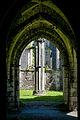 Margam Abbey ruin chapter house (7961757470).jpg