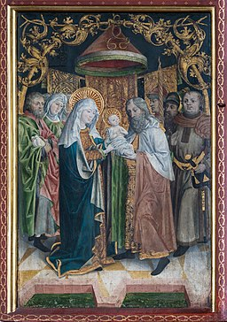 Maria Gail Kirche Flügelaltar Darstellung 01