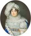 Maria Theresa of Austria-Este, miniature.png