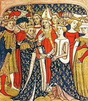 The wedding of Philip to Maria of Brabant