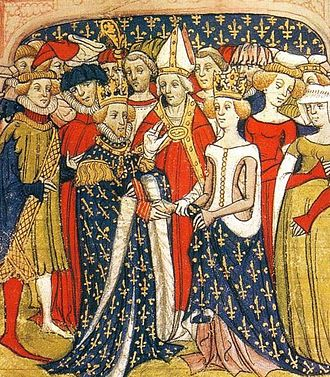 Philip III of France - Marriage of Philip and Marie of Brabant, Queen of France
