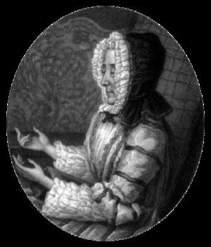 Marie Anne de Vichy-Chamrond, marquise du Deffand - Marie du Deffand