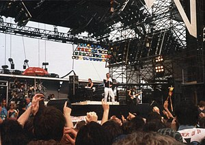 Marillion - Marillion performing live in 1986
