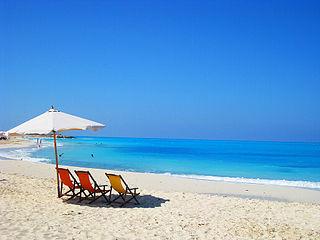 Northern coast of Egypt