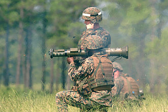 United States Marine Corps School of Infantry - Marines in the Marine Corps Combat Instructor Course fire the AT-4 as part of their training to become the instructors of Marine Combat Training and Infantry Training Battalion.