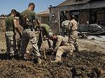 Marines recover, clean debris from Harrier crash in California 140609-M-HL954-369.jpg