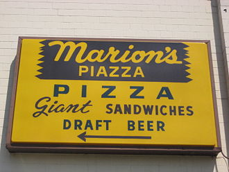 Marion's Piazza - Signage for Marion's Piazza