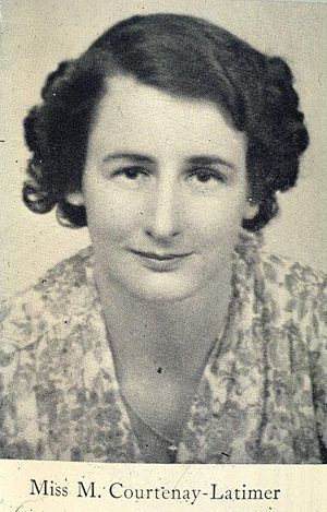 Marjorie Courtenay-Latimer - Image: Marjorie Courtenay Latimer