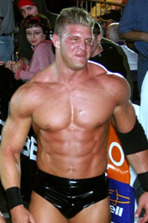 Mark Jindrak - Jindrak at a WWE house show in January 2005.