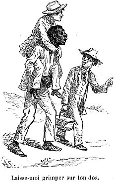 The illustration of racism in mark twains huckberry finn