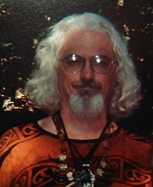 Mark shepherd at Circle Sanctuary Lughnassadh 2003.jpg
