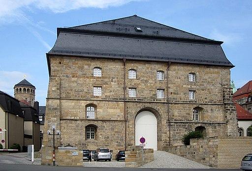 Markgräfliches Opernhaus Bayreuth, Rückseite 2019