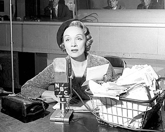 Monitor (NBC Radio) - Marlene Dietrich was a regular Monitor advisor on emotional problems.