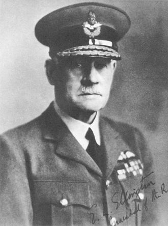 Chief of the Air Staff (India) - Image: Marshal of the RAF Sir Edward Ellington