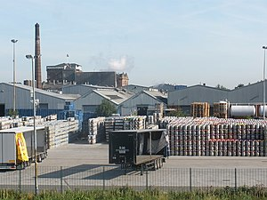 Marston's Brewery - The Marston's Brewery in Burton upon Trent, 2009