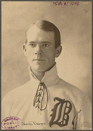 Marty Bergen (baseball) - Martin Bergen, circa 1899