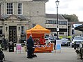 Martin House stand, Market Place, Wetherby (16th October 2020).jpg