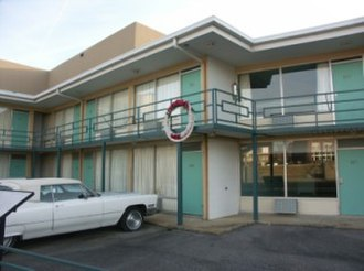James Earl Ray - The Lorraine Motel, now known as the National Civil Rights Museum, where King was assassinated