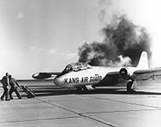 Martin RB-57A engine start