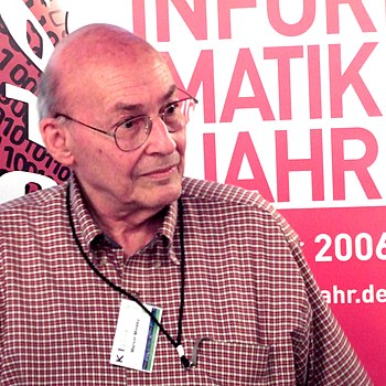 Marvin Minsky at the KI 2006 artificial intell...