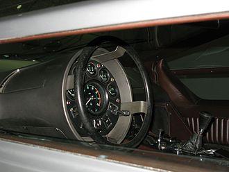 Maserati Boomerang - Steering wheel with gauges