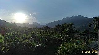 """Nuclear"" sunrise at Zao Keng"