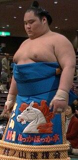 Masunoyama Tomoharu Sumo Wrestler