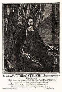 Mathias Steuchius Swedish archbishop