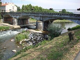 Échez river in France