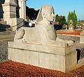 Mausolée Goblet d'Alviella - Sphinx 01.JPG