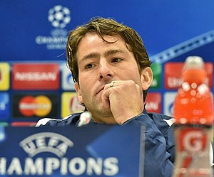 Maxwell (footballer) - Maxwell during a press conference in 2015