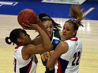 Maya Moore - Moore playing in 2009 for UConn