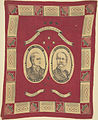 "McKinley-Hobart ""Protection Republican Prosperity"" Portrait Handkerchief, ca. 1896 (4359397691).jpg"