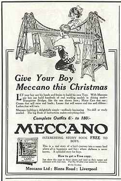 Advert in Pears' Annual Christmas 1920.