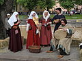 Medieval band at Turku Medieval market 2015.jpg