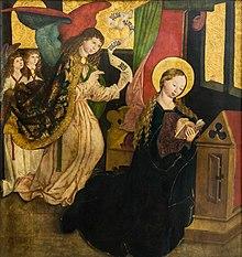 Annunciazione (Maestro di Seitenstetten), 1490 circa)