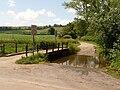 Melcombe Bingham, ford over Devil's Brook - geograph.org.uk - 1374676.jpg