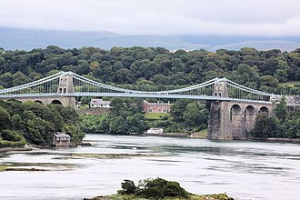 Anglesey - Menai Bridge