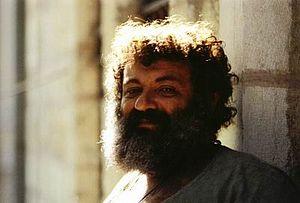 Menashe Kadishman - Portrait of Menashe Kadishman, 1979 Photographer: Stanley I. Batkin