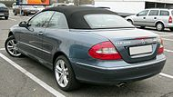 Mercedes Benz A209 rear 20081128.jpg