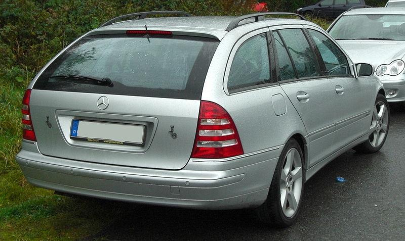 File:Mercedes S203 Facelift (2004-2007) Avantgarde rear MJ.JPG