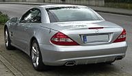 Mercedes SL II.Facelift rear.jpg