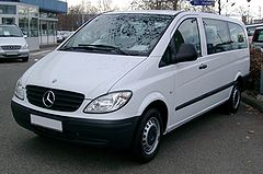 Mercedes-Benz Vito II przed liftingiem