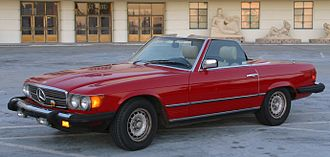 Mercedes-Benz R107 and C107 - 1983 Mercedes-Benz 380SL - US version