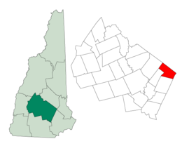 Pittsfield – Mappa