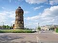 Merseburg Bahnhofsvorplatz Wasserturm-01.jpg