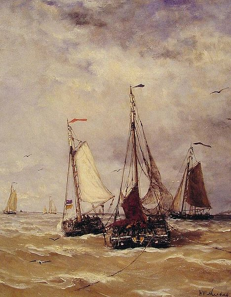 File:Mesdag, Preparations for departure.jpg