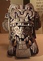 Messico, zapotec, urna ceramica con ritratto di cocijo, dallo stato di oxaca, 200-800 dc ca. 02.jpg