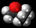 Methyl isopropyl ketone molecule spacefill.png